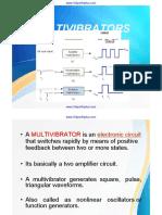 Unit 4 - Multivibrator