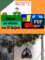 Educa Ren Valore Scone l Quijote