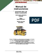 Manual Operacion Mantenimiento Rodillo Compactador Cg233hf Dynapac