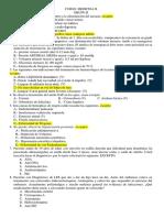 Preguntas de Examen de Medicina II Grupo i Lunes 05 de Mayo 2014 Correcto