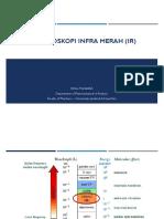 Spektroskopi Infra Merah (IR)