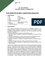 Plan Anual de Tutoria Ceba - 2013 - Copia