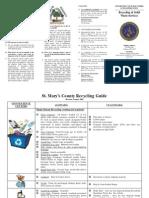 Recycling Brochure