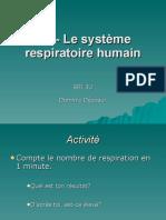 respiratoire détaillée