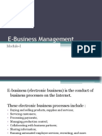 E-Business Mgt- MODULE-1 (2 Files Merged)
