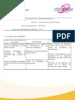 DiseñoOrganizacional(Asignatura-ITESCAM)