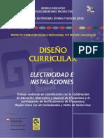 Diseno Curricular Electricidad e Instalaciones