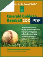 Emerald Guide 2008 Edition