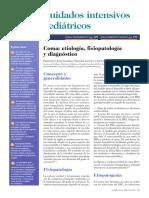 Comaetiología fisiopatología