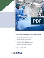 Branchenbericht Medizintechnik