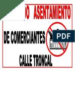 Prohibido Asentamientoo