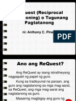 FILI500 ReQuest Reciprocal Questioning o Tugunang Pagtatanong