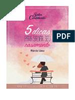 5 Dicas Para Salvar Seu Casamento