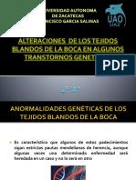 Alteraciones de Los Tejidos Blandos de La Boca GENETICA