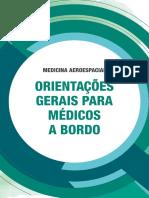 Medicina Aeroespacial - Orientações aos  Médicos a Bordo CFM 2018