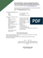 Surat Rekomendasi Profesi 2016