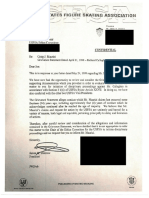 Letter from Jimmy Disbrow to Jon Jackson