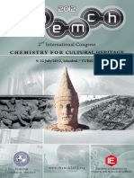 Chemistry for Cultural Heritage