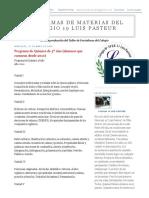 Quimica 5º, , Colegio 19 Luis Pasteur (Alumnos Que Cursaron Desde 2010)
