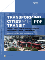 Transforming Cities With Transit World Bank