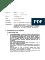 Rscs Course Convenor Mtg Minutes 2 - 31st March
