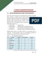 Bab 3 Gambaran Umum Wilayah Studi Kabupaten Banjar