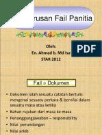 Pengurusan Fail Panitia 2012