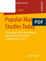 (Systematische Musikwissenschaft) Julia Merrill (Eds.)-Popular Music Studies Today_ Proceedings of the International Association for the Study of Popular Music 2017-Vs Verlag Für Sozialwissenschaften