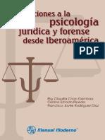 Aportaciones a La Psicologia Juridica y Forense Desde Iberoamerica