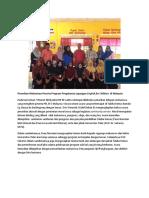 Penarikan Mahasiswa Peserta PKL EFC Malaysia