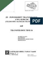 manual de transmision de TL642 Y TL943 CAT ZF_Powershift Trans_4 WG-92-98 TSC