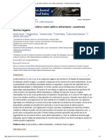 El Uso de Ácido Ascórbico Como Aditivo Alimentario_ Cuestiones Técnico-legales