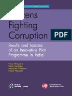 Citizens fighting corruption