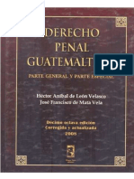 Derecho Penal Guatemalteco Parte General y Especial