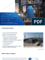 Topsoe Sorensen Cost Efficient Methanol Production Mar17