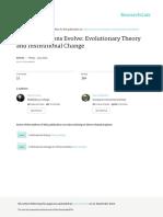 HowInstitutionsEvolve-EvolutionaryTheoryandInstitutionalChange