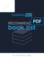 Charles Ngo Recommended Book List