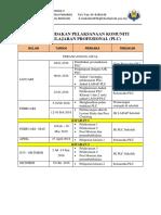 Pelan Tindakan Dan Jadual Pelaksanaan Plc_2018
