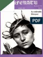 Revista de Cine - Nosferatu N 5 - Enero 1991 - La Mirada Dreyer
