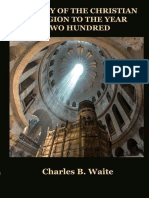 History of the Christian Religion to Year 200 - Charles Waite