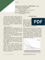 Diseño e Implementación IPV6 en MyPymes