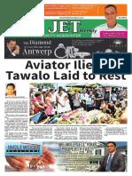 The Jet Newspaper Volume 10 Number 8