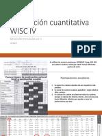 Calificacion Cuanti e Interpretacion Wisc IV