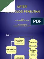 Metodologi Penelitian - MM