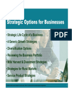 4. Strategic Options for Businesses