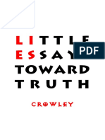 Crowley - Little Essays Toward Truth