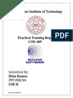 Intern Report (block chain)