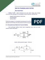 3. Stabilitas Transien (Sudut Rotor)