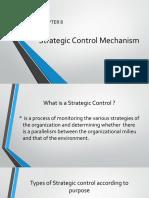 Strategic Control Mechanism Final