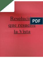 12. Resolución Que Resuelve La Vista